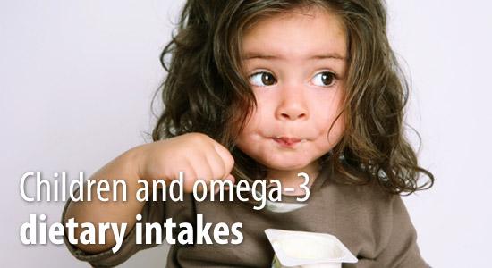 Omega 3 and children