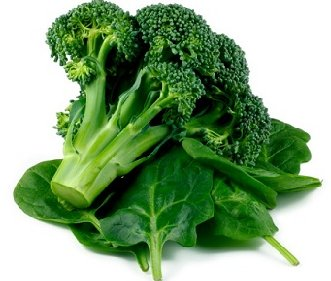Alpha Lipoic Acid (ALA) in Broccoli and Spinach